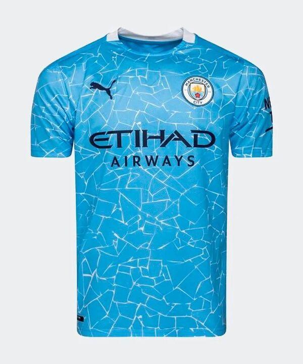 Манчестер Сити домашняя форма сезон 2020-2021 (футболка+шорты+гетры)